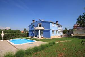 Rodinné apartmány s bazénem Štokovci (Vnitrozemí Istrie - Središnja Istra) - 7458