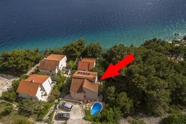Medići, Omiš, Objekt 7461 - Ubytovanie blízko mora s kamienkovou plážou.