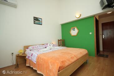 Premantura, Ložnice v ubytování typu room, s klimatizací, domácí mazlíčci povoleni a WiFi.