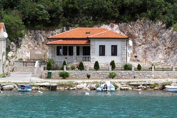 Plomin Luka, Labin, Property 7466 - Vacation Rentals near sea with pebble beach.