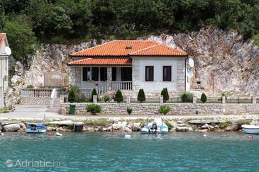 Plomin Luka, Labin, Hébergement 7466 - Maison vacances à proximité de la mer avec une plage de galets.