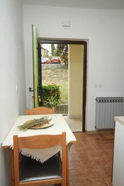 Labin, Jídelna v ubytování typu apartment, WiFi.
