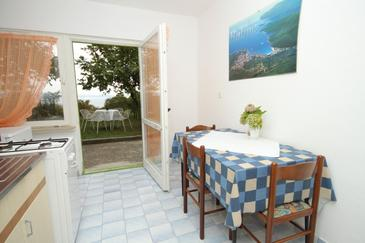 Labin, Dining room in the studio-apartment, WIFI.