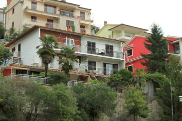 Rabac, Labin, Property 7472 - Apartments with pebble beach.