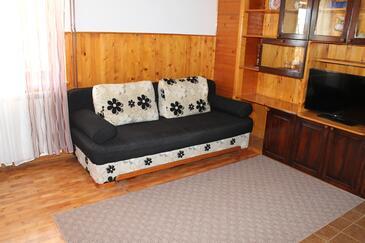 Senj, Obývací pokoj v ubytování typu apartment, domácí mazlíčci povoleni a WiFi.