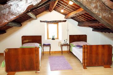 Hreljići, Obývací pokoj v ubytování typu house, s klimatizací a WiFi.