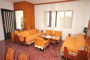 Rogoznica, Obývací pokoj v ubytování typu apartment, WiFi.