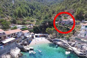 Seaside secluded apartments Cove Pobij bay - Pobij (Hvar) - 7506