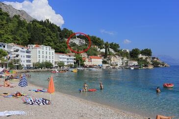 Mimice, Omiš, Property 7522 - Apartments near sea with pebble beach.
