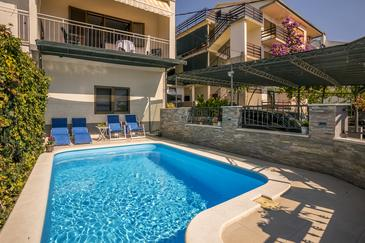Podstrana, Split, Property 7539 - Vacation Rentals with pebble beach.