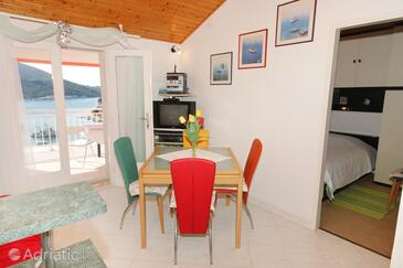 Vela Luka, Dining room in the apartment, WIFI.