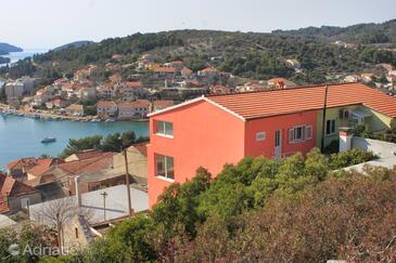 Vela Luka, Korčula, Property 7551 - Apartments with pebble beach.