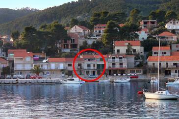 Brna, Korčula, Объект 7553 - Апартаменты вблизи моря с песчаным пляжем.