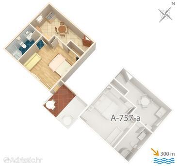 Sumartin, Plan in the apartment, WIFI.