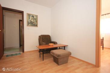 Bušinci, Living room in the apartment.