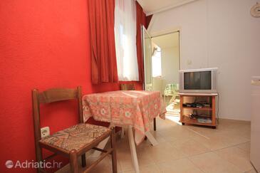 Okrug Gornji, Dining room in the apartment, dopusteni kucni ljubimci i WIFI.