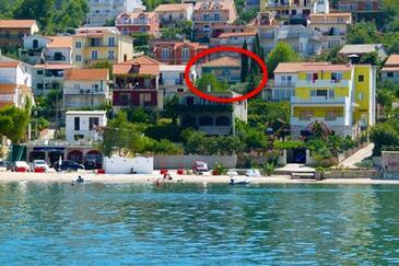 Mastrinka, Čiovo, Hébergement 7582 - Appartement à proximité de la mer avec une plage de galets.