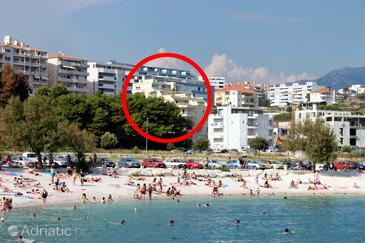 Split, Split, Property 7589 - Apartments near sea with pebble beach.