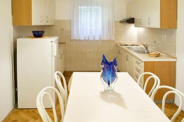 Rabac, Kuchyně v ubytování typu apartment, WiFi.
