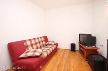 Mošćenice, Living room 1 in the house.