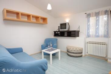 Bačva, Living room in the apartment, dopusteni kucni ljubimci i WIFI.