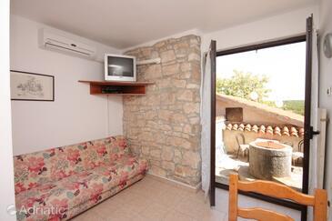 Bačva, Living room in the apartment, dostupna klima, dopusteni kucni ljubimci i WIFI.