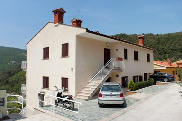 Rabac, Labin, Property 7660 - Apartments with pebble beach.