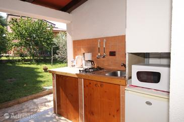 Umag, Kitchen in the studio-apartment, (pet friendly) and WiFi.