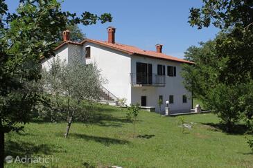 Kršan - Vlašići, Središnja Istra, Hébergement 7685 - Maison vacances avec une plage de galets.