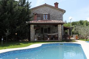Holiday house with a swimming pool Kršan - Vlašići, Central Istria - Središnja Istra - 7686