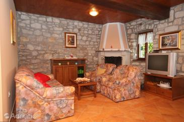 Kršan - Vlašići, Living room in the house, WiFi.