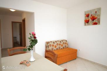 Trget, Living room in the apartment, air condition available, (pet friendly) and WiFi.