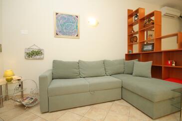 Mošćenička Draga, Dnevna soba v nastanitvi vrste apartment, dostopna klima, Hišni ljubljenčki dovoljeni in WiFi.