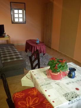 Lovran, Dnevni boravak u smještaju tipa apartment, kućni ljubimci dozvoljeni i WiFi.
