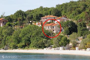 Medveja, Opatija, Objekt 7719 - Ubytování v blízkosti moře s oblázkovou pláží.