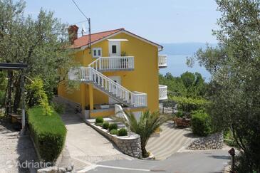 Medveja, Opatija, Объект 7721 - Апартаменты с галечным пляжем.