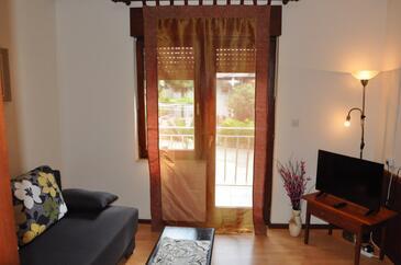 Oprič, Obývací pokoj v ubytování typu apartment, WiFi.