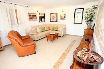 Manjadvorci, Obývacia izba 1 v ubytovacej jednotke house, domáci miláčikovia povolení a WiFi.