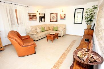 Manjadvorci, Obývací pokoj 1 v ubytování typu house, domácí mazlíčci povoleni a WiFi.