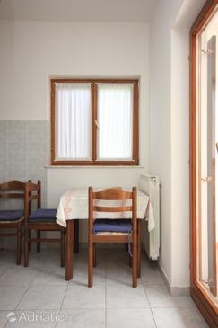Mošćenička Draga, Dining room in the apartment, WIFI.