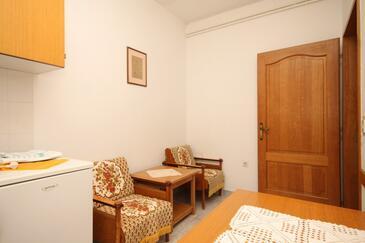 Ičići, Jedáleň v ubytovacej jednotke apartment, dopusteni kucni ljubimci i WIFI.