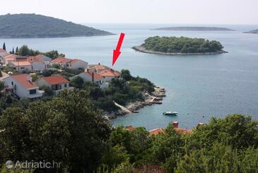 Maslinica, Šolta, Objekt 775 - Ubytování v blízkosti moře s kamenitou pláží.