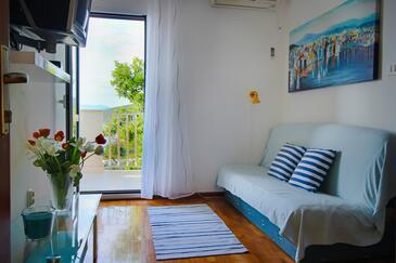 Maslinica, Гостиная в размещении типа apartment, доступный кондиционер и WiFi.