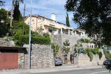 Medveja, Opatija, Property 7765 - Apartments near sea with pebble beach.