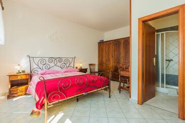 Mošćenička Draga, Ložnice v ubytování typu room, s klimatizací a WiFi.