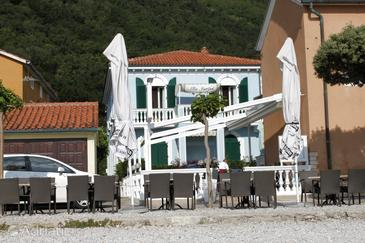 Mošćenička Draga, Opatija, Property 7773 - Apartments near sea with pebble beach.