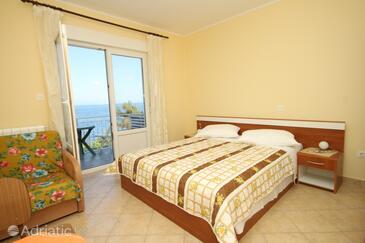 Medveja, Ložnice v ubytování typu room, s klimatizací a WiFi.