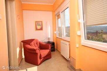 Opatija - Pobri, Camera di soggiorno nell'alloggi del tipo house, animali domestici ammessi e WiFi.