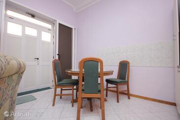 Split, Dining room in the studio-apartment.
