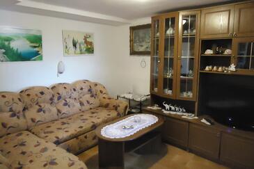 Liganj, Living room in the apartment, dopusteni kucni ljubimci.
